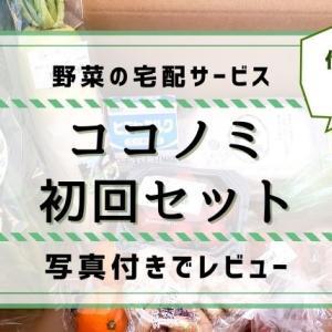 【ココノミ】初回セットで届いた野菜をレビュー。他社の野菜と比較も!