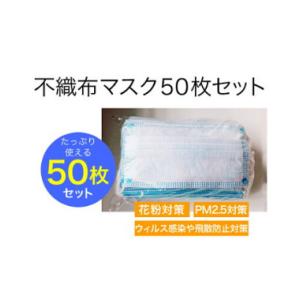 使い捨てマスク  50枚  価格:2980円  普通サイズ  立体プリーツ 3層構造