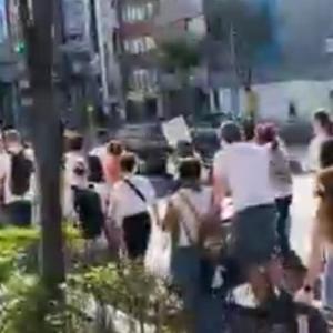 【悲報】大阪なおみが扇動した黒人デモが大阪で始まる