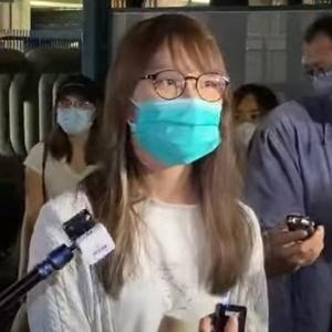 【速報】周庭さん、保釈 パスポートは没収 香港