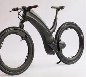 【自転車】タイヤがただの輪っか! ハブもスポークもない未来のeバイク「beno」