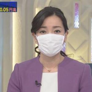 【テレ東】大江麻理子「WBSは今日からスタジオ内でトークをする場合には、マスクを着用することにしました」