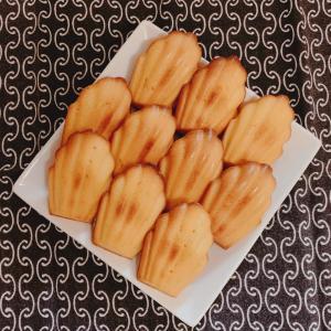 焼き菓子の定番!その① 『マドレーヌ』の作り方
