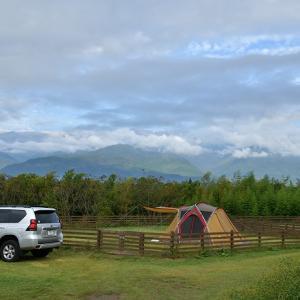 いなかの風でキャンプ