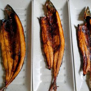 今夜は秋刀魚の開きでございます
