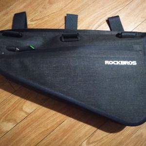 ミニベロにつけるフレームバッグをネットで買ったよ!