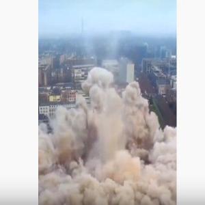 建物爆破解体まとめ動画・失敗なしのスッキリ仕様