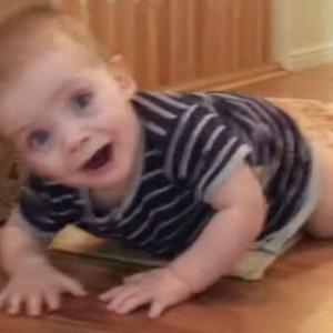 かわいい子供動画・見ていると必ず笑みがこぼれます