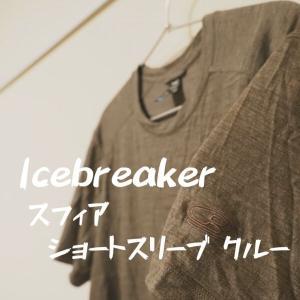 Icebreaker (アイスブレーカー)の薄手メリノウールは夏のアルプスや春~夏の登山に最高。