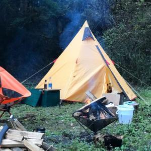 キャンプ初回のトラブル テント設営に時間が掛かる