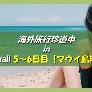 ハワイ旅行記 海外旅行どこでもトラブル珍道中 5日目~6日日【マウイ島アクティビティ~病に倒れる編】