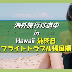 海外旅行どこでもトラブル珍道中 ハワイ旅行記 最終日【フライトのトラブル対処法 帰国編】