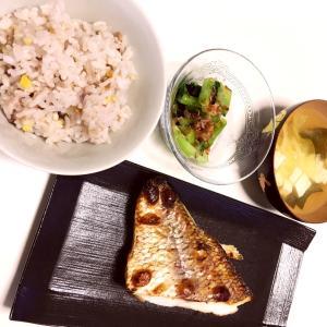 夜ご飯 焼き魚