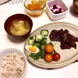 夜ご飯 焼肉定食