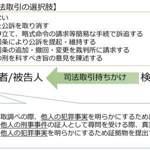 日本版司法取引の勘どころ②〜検察官と被疑者/被告人のカード〜