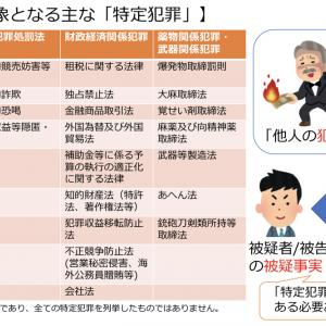 日本版司法取引の勘どころ③〜対象となる「特定犯罪」〜