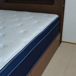 ベッドの高さ、5cmの違い。