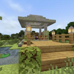 【マイクラ】サバイバルでも作れる!簡単エンチャント神殿!
