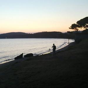 トスカーナ海日和 Golfo di Barattiの朝焼け