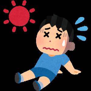 暑い日の話('ω')