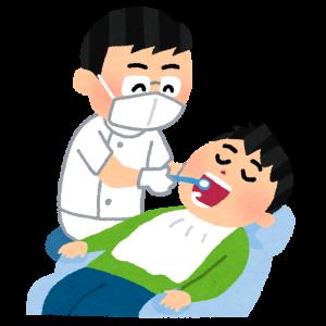不潔恐怖症の歯医者の話('ω')