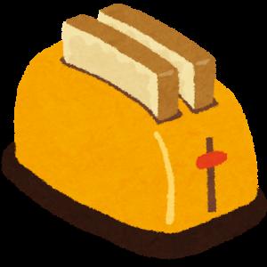 トースターの話('ω')