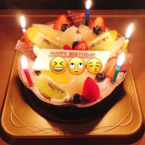 誕生日の話('ω')
