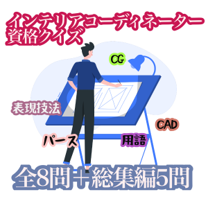 【クイズ】CAD関連用語とCAD・CG表現についてのクイズ!