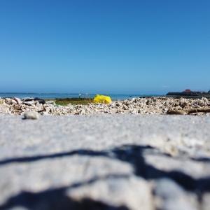 【沖縄】海岸でドローンを飛ばしてみた。