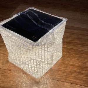 持って運んで折り畳めるランタンは災害時にあると安心する、CARRY THE SUN