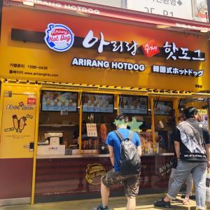 【2019.6月】ソウル旅*弾丸子連れ お店を見ると食べたくなる!日本でも有名なハッドック