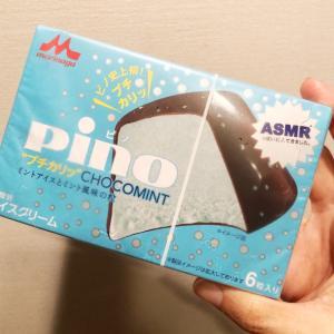 ついに発見♪PINOのチョコミント味を食べました♡