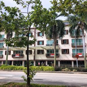 シンガポール総選挙の日の街の様子