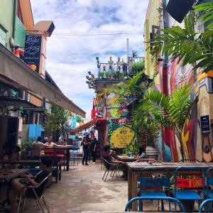 ハジレーンでメキシコからお越しのオルチャータバブルティーを飲む
