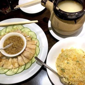 待望のスープレストラン:ジンジャーチキンとスープ最高でした!