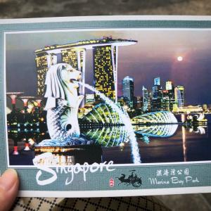 シンガポールポストのSAMでエアメイル葉書の切手を購入