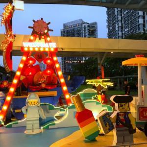 シンガポールの旧正月で見た!なんと合理的な着せ替え!