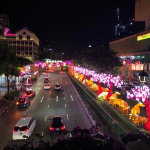 シンガポール旧正月2021:チャイナタウンのイルミネーション
