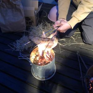 GWの過ごし方:自宅でカツオのたたきと海鮮バーベキュー