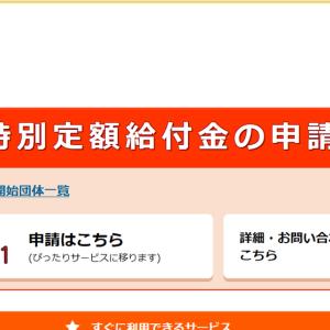 10万円の特別定額給付金オンライン申請してみた