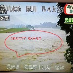 移住先 災害の危険性について大雨の中思ったこと