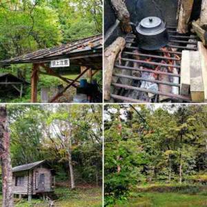 北アルプスの森のワイルドなキャンプ場「山の子村」を生き返らせる活動に参加する