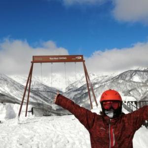 ハイジのブランコ ヤッホースイング やっと行けた白馬岩岳ホワイトパーク
