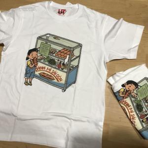 ホーチミンのユニクロでTシャツを作る(ベトナム2019〜2020)