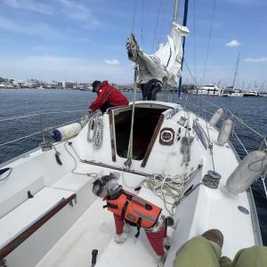 マハロ船長の今年初航海