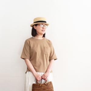 無印良品 この夏に買い足すならエクレアモカ色のTシャツを