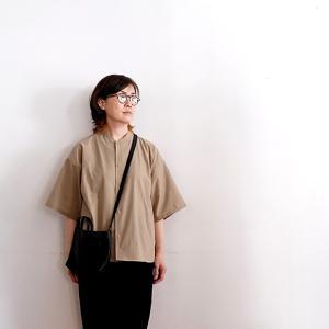 無印良品 買ってよかった!MUJI Laboの半袖シャツが真夏に使えるサラサラ素材。