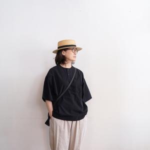 無印良品 もう買った?真夏につかえるブラウスは男女兼用のヘンリーシャツ!