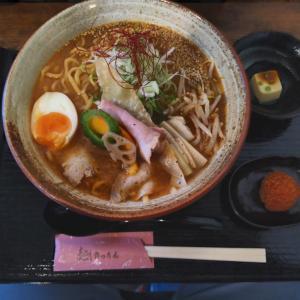東根市麺sきっちん:創作系が得意なお店で辛みそらーめんを食す!