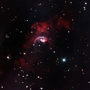 バブル星雲もNB4で